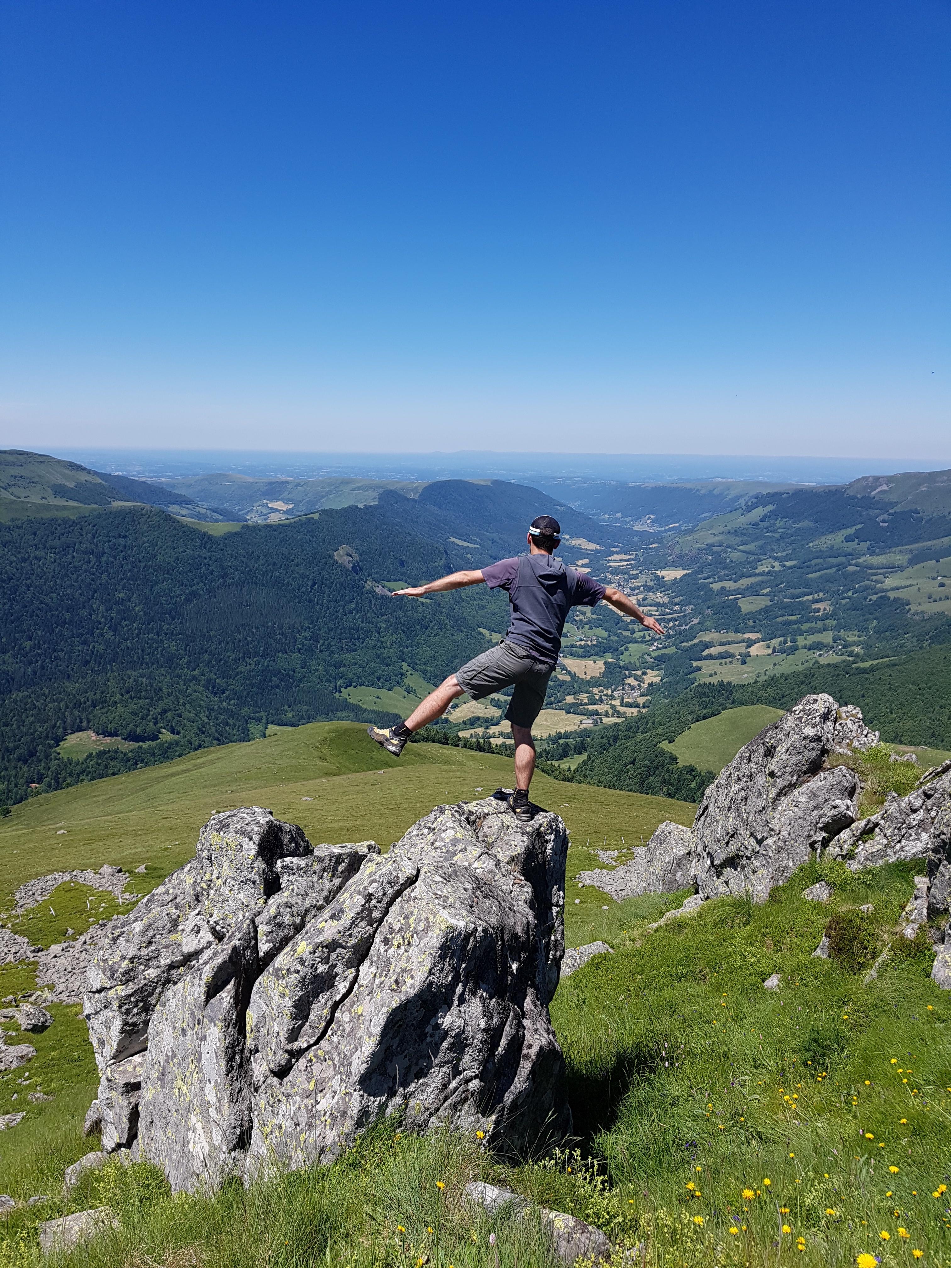 Puy de la Tourte GR400 Cantal