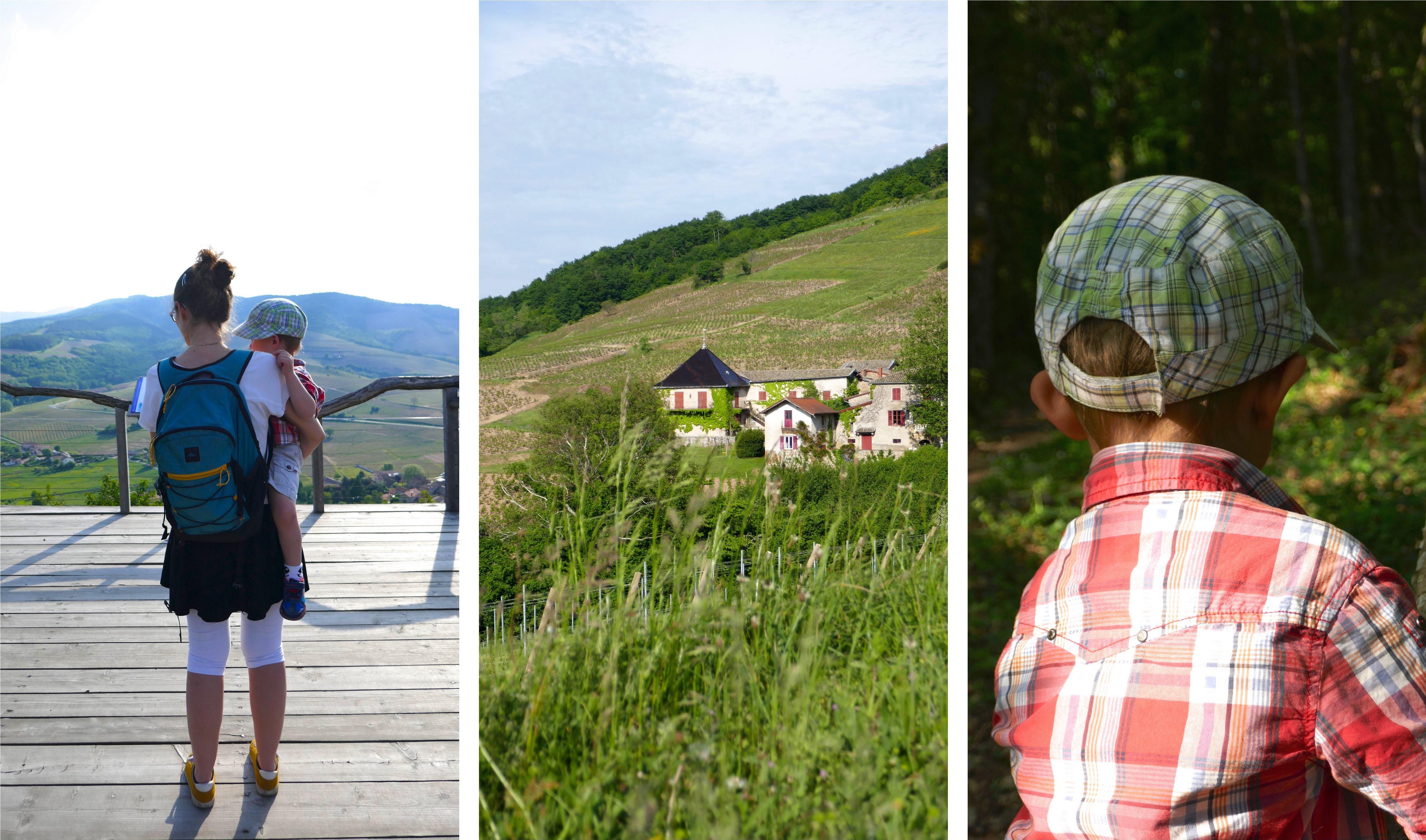 Beaujolais en famille blog Mont Brouilly