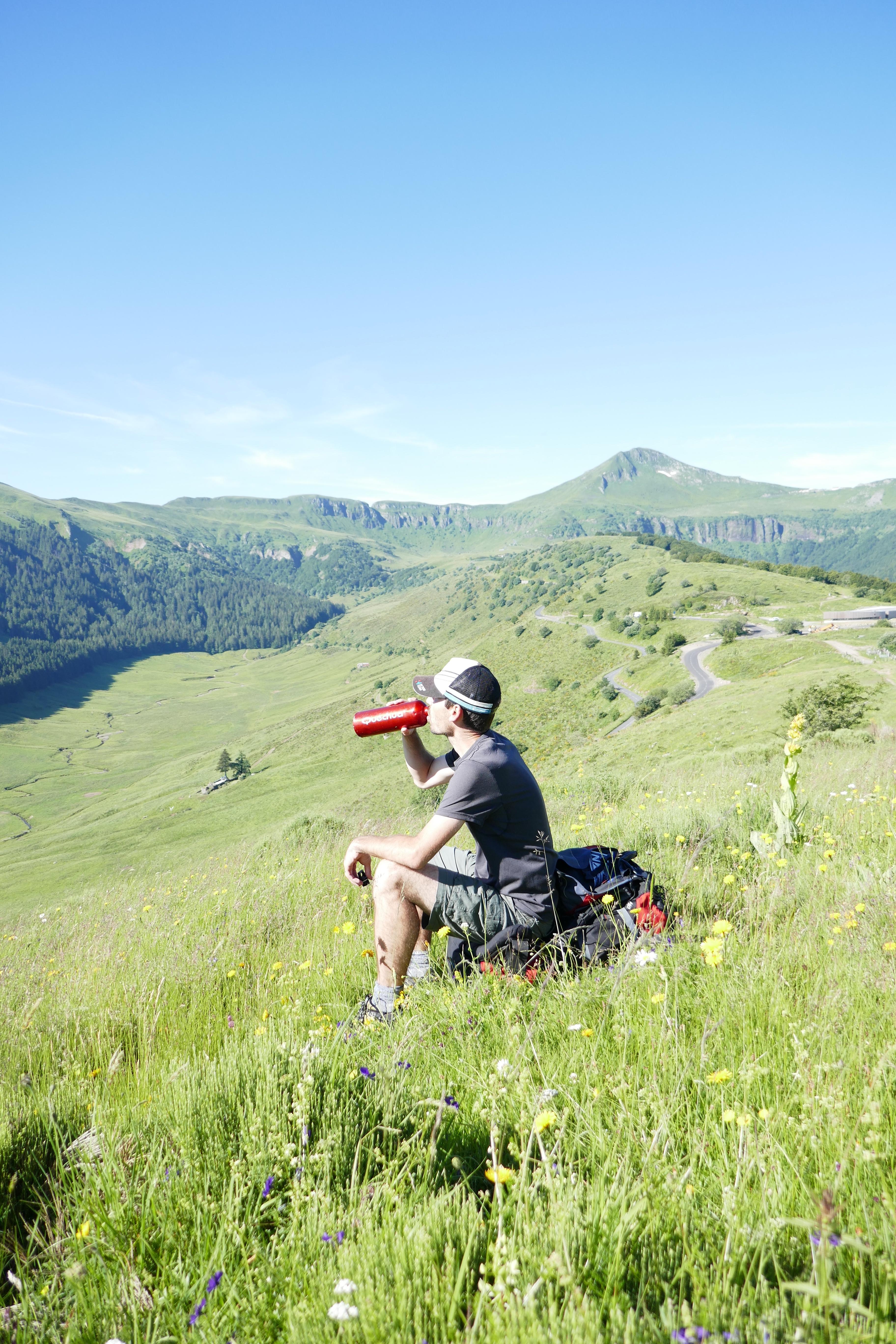 Puy Mary GR400 Cantal randonnée