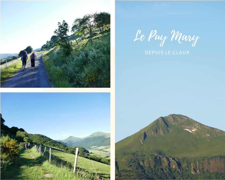 Le Claux Puy MAry GR400 IGN