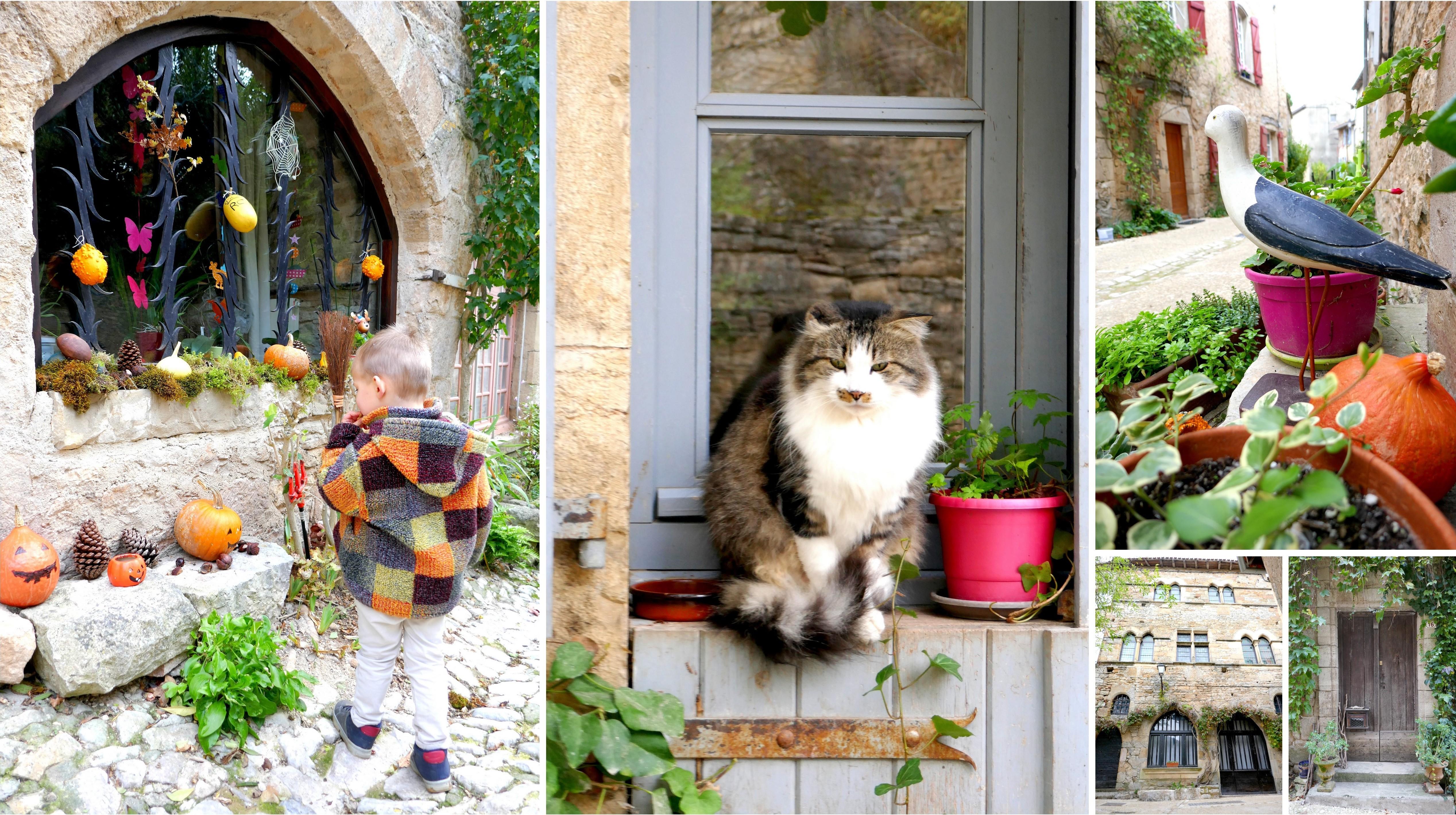 Bruniquel en famille Tarn & Garonne