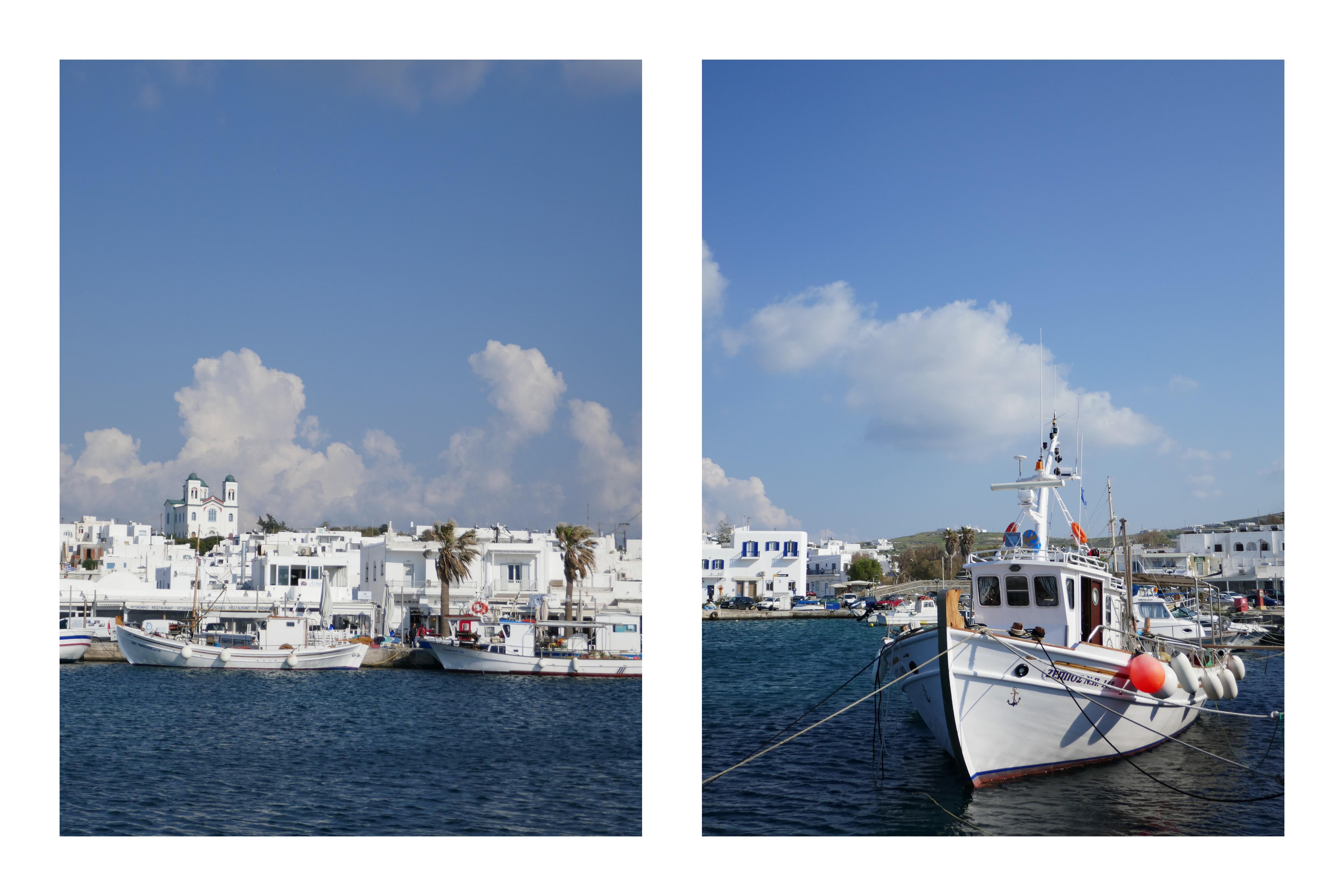 Naoussa - Paros - Grèce - blog De beaux Lents Demains