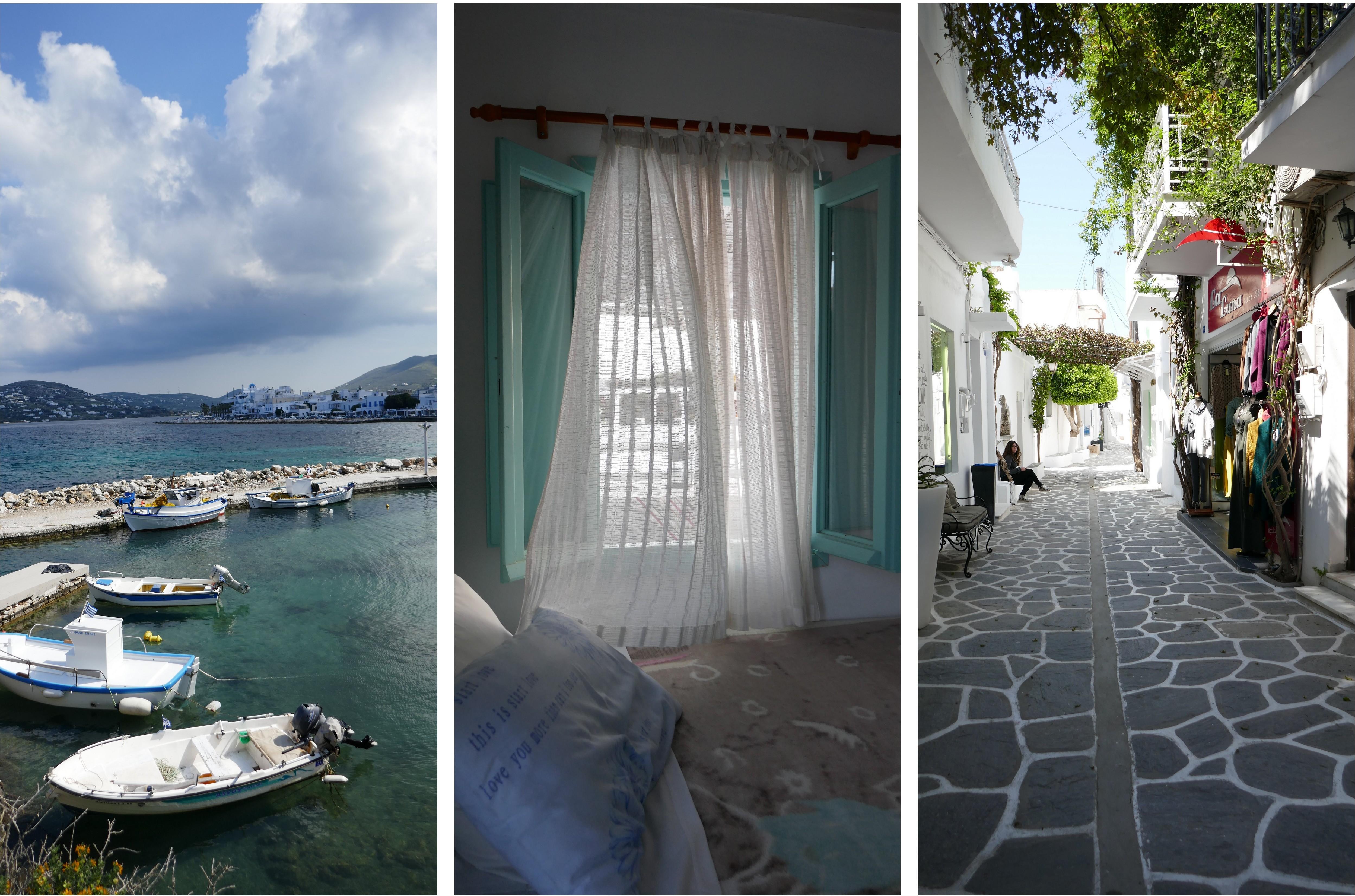 Parikia est la capitale et le port principal de l'île de Paros.
