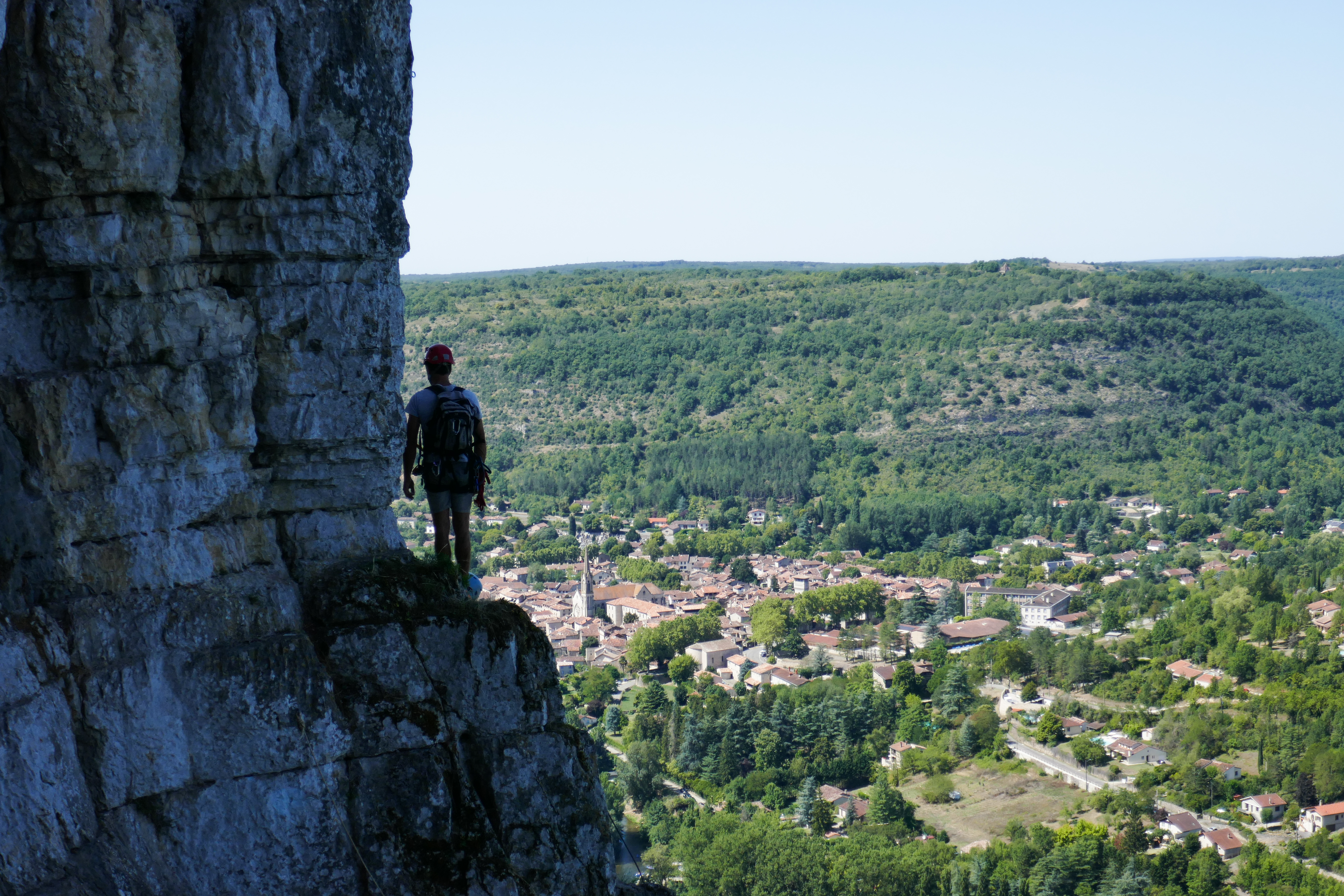 Via Ferrata - Roc d'Anglars - Saint-Antonin-Noble-Val