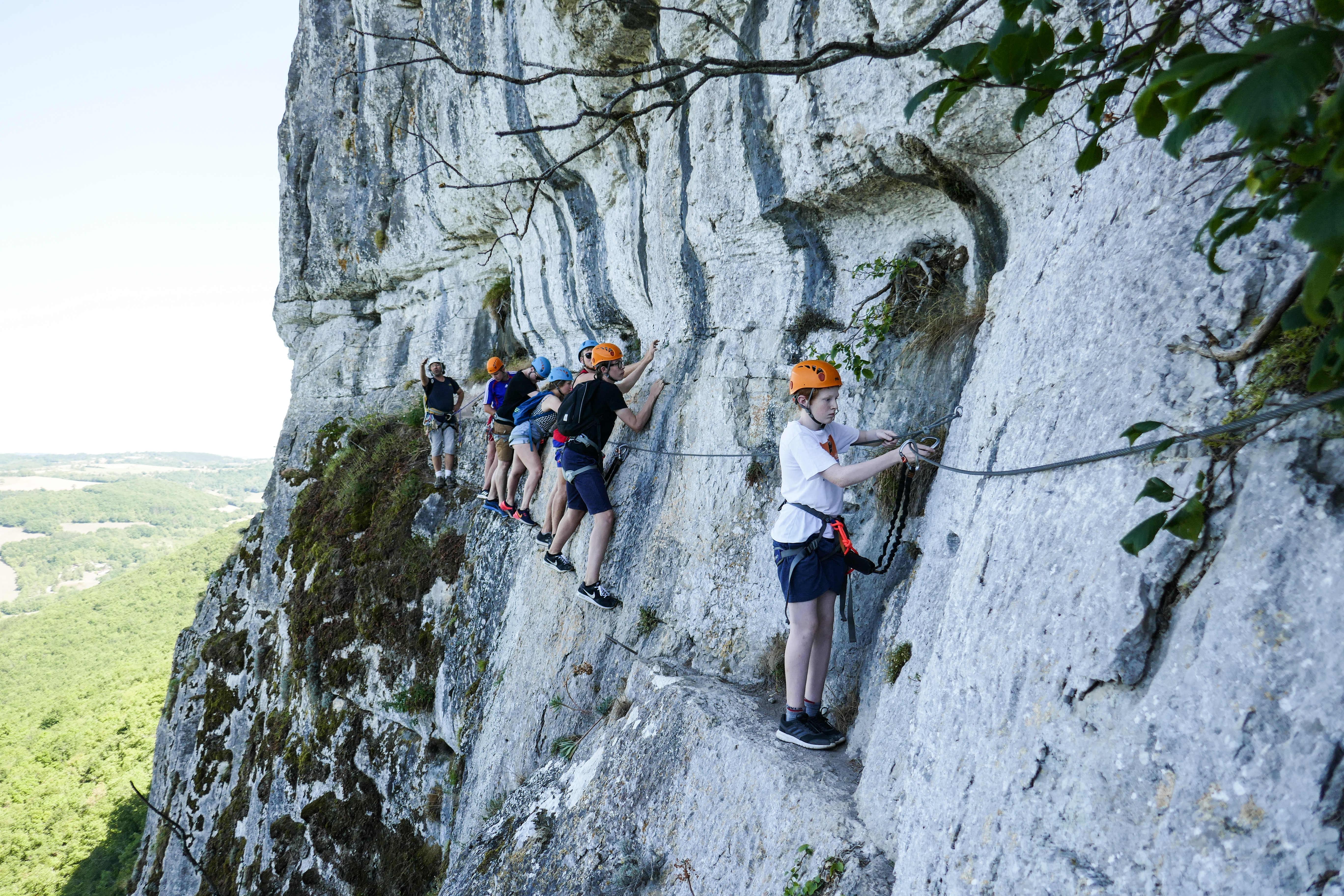 Via Ferrata Roc d'Anglars - Saint-Antonin-Noble-Val