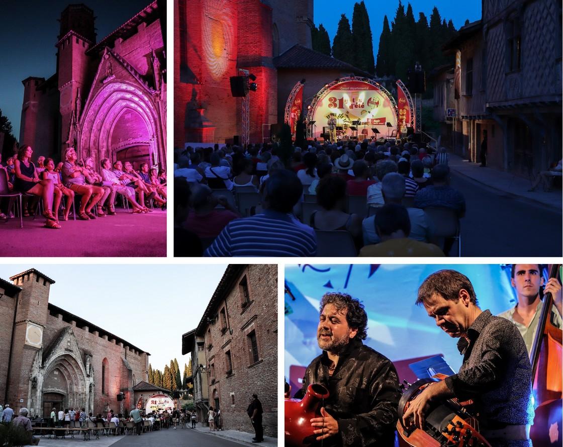 Rieux Volvestre - festival 31 Notes d'été - Haute Garonne tourisme