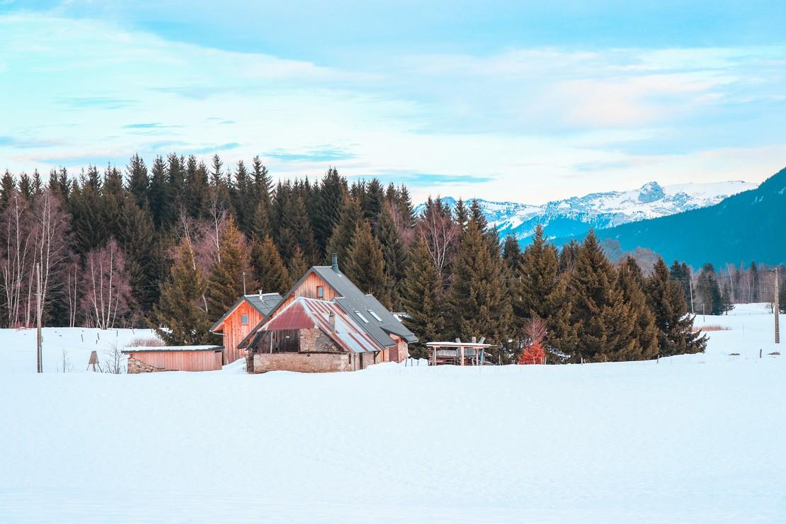 La Feclaz le village nordique