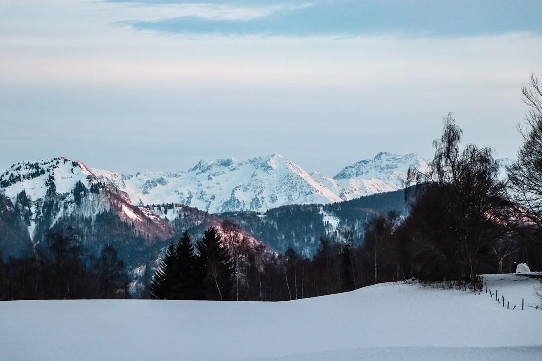 Mont Margeria depuis la Feclaz