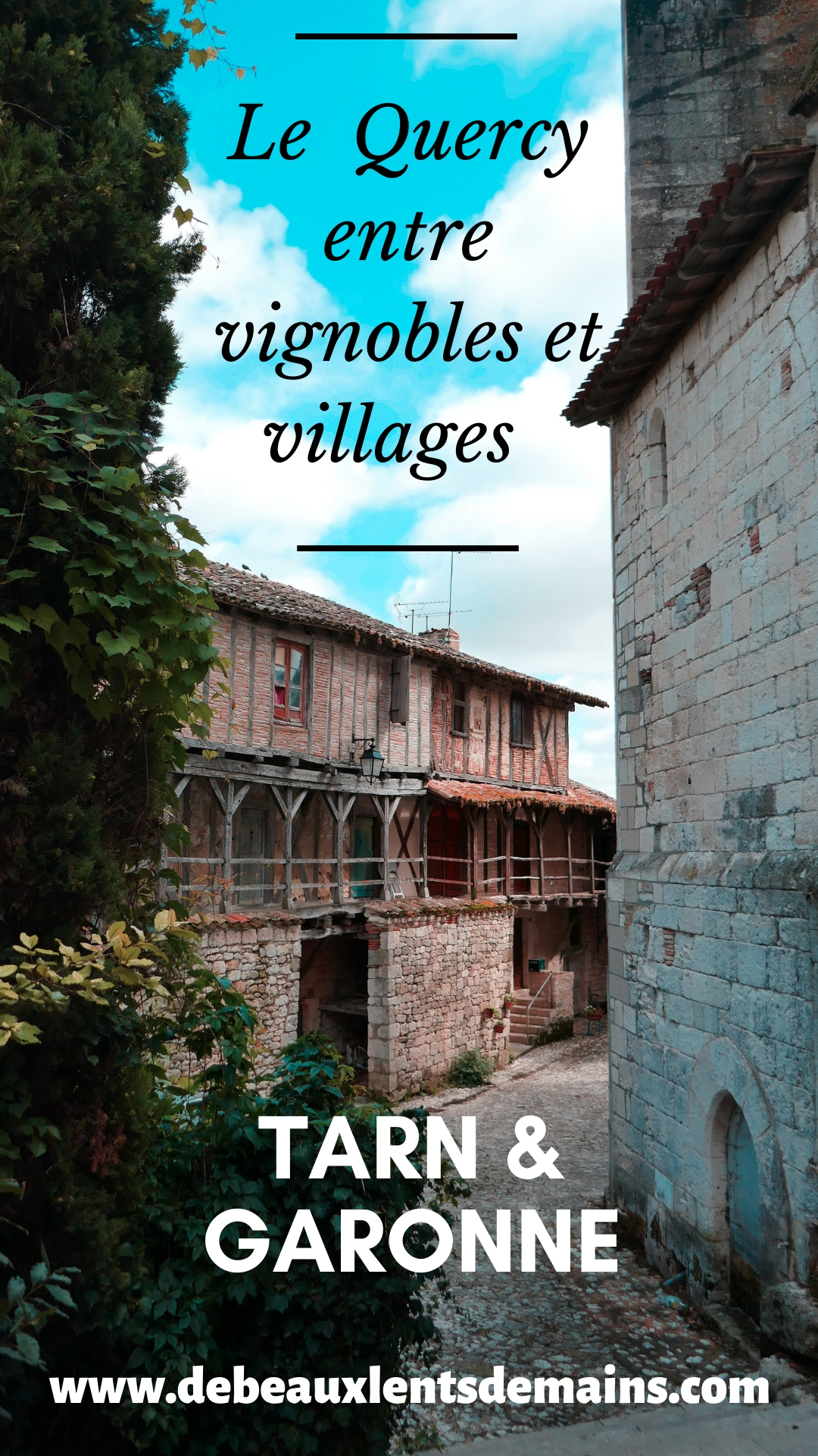 Le Tarn et Garonne côté Quercy