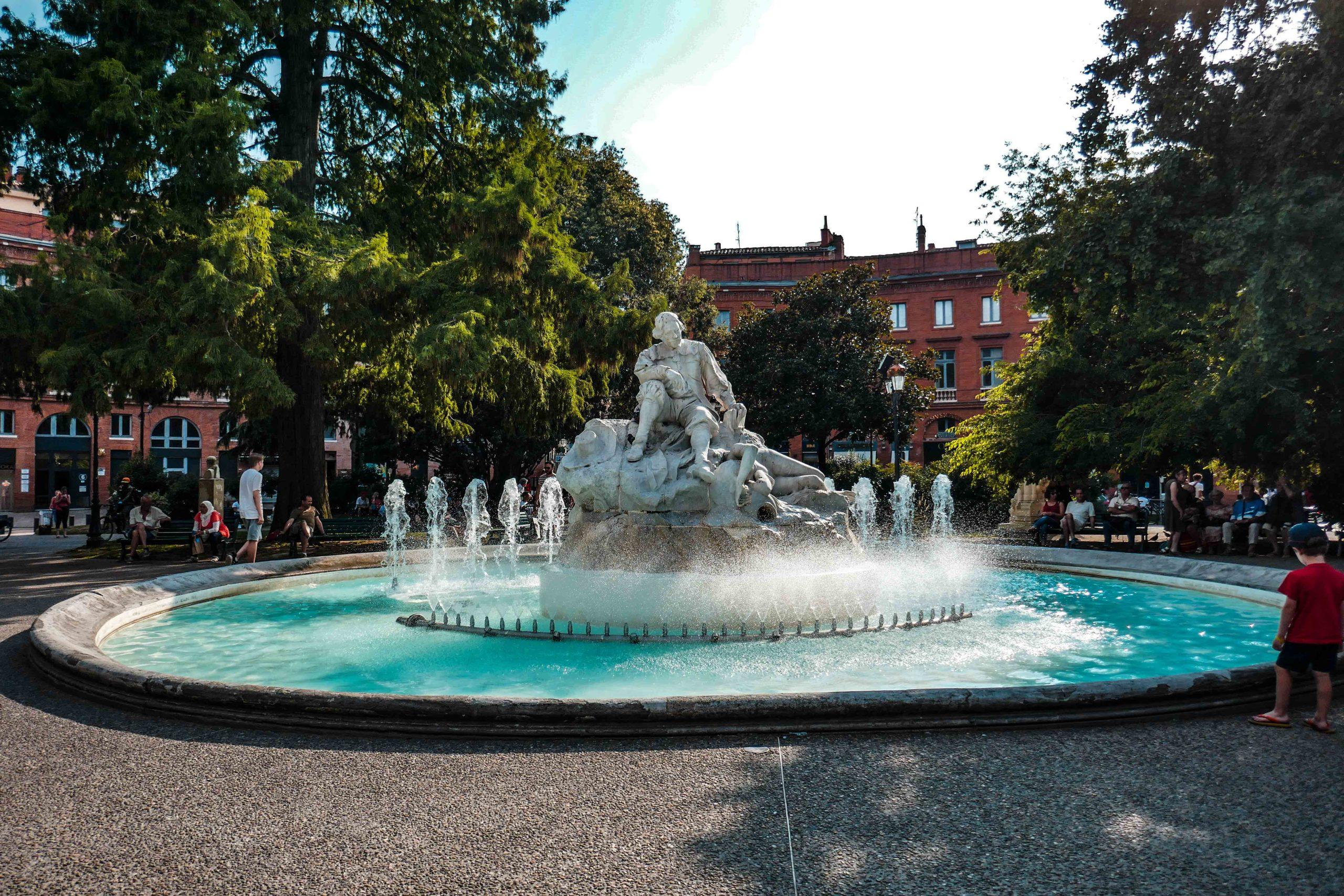 La Fontaine goudouli à Toulouse