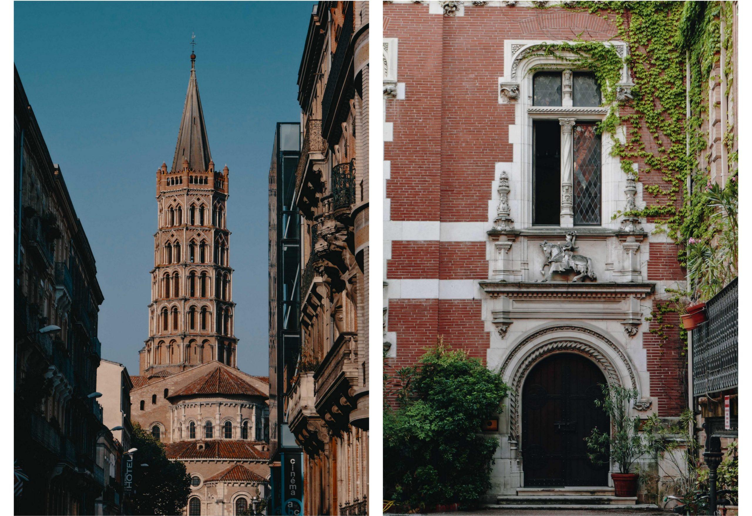 Toulouse en famille voyage  église saint Sernin