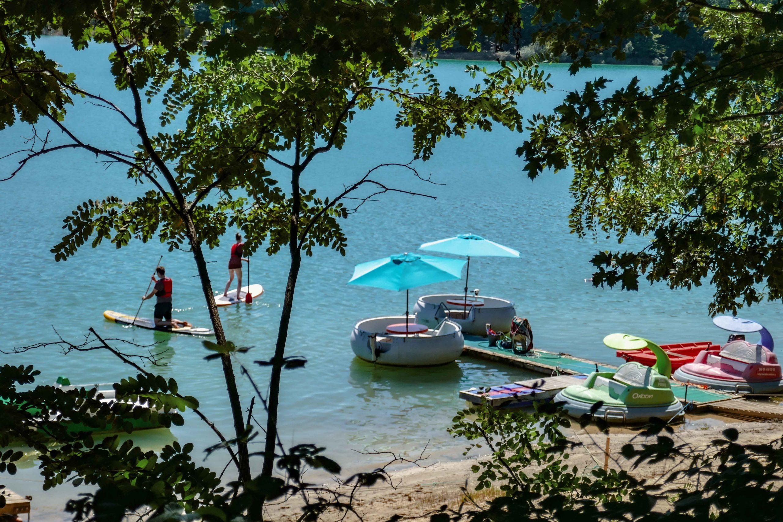 Que faire au lac de Montbel  Ariège tourisme