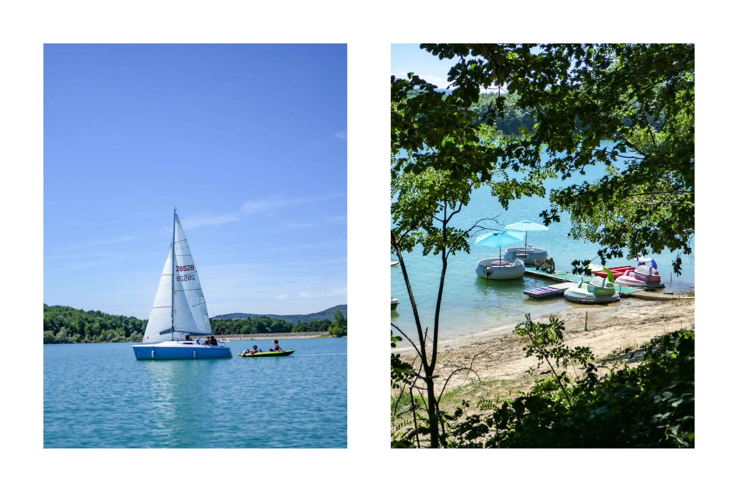 Lac de Montbel Ariège Pyrénées Famille blog