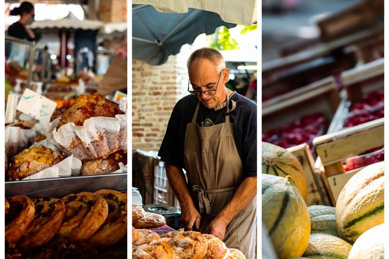 marché de Grenade  - Que faire en famille dans le Pays Tolosan - Haute Garonne en famille - hauts Tolosans