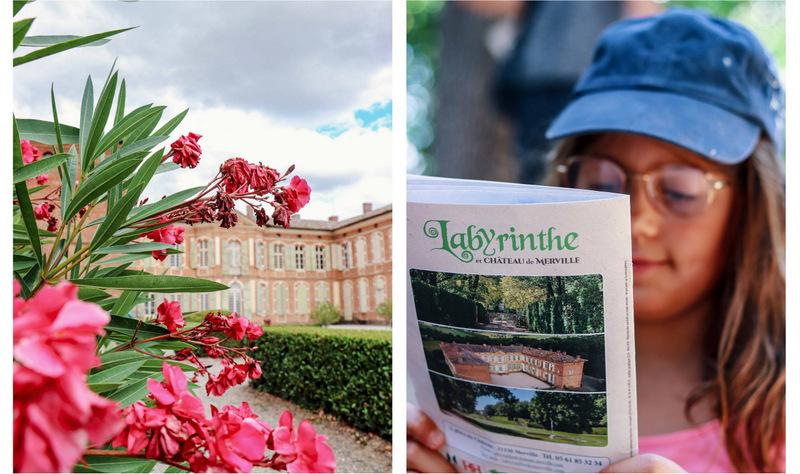 Merville château et labyrinthe - Que faire en famille dans le Pays Tolosan - Haute Garonne en famille