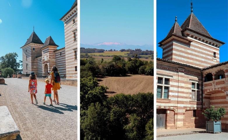 Château de Laréole - Que faire en famille dans le Pays Tolosan - Haute Garonne en famille - blog