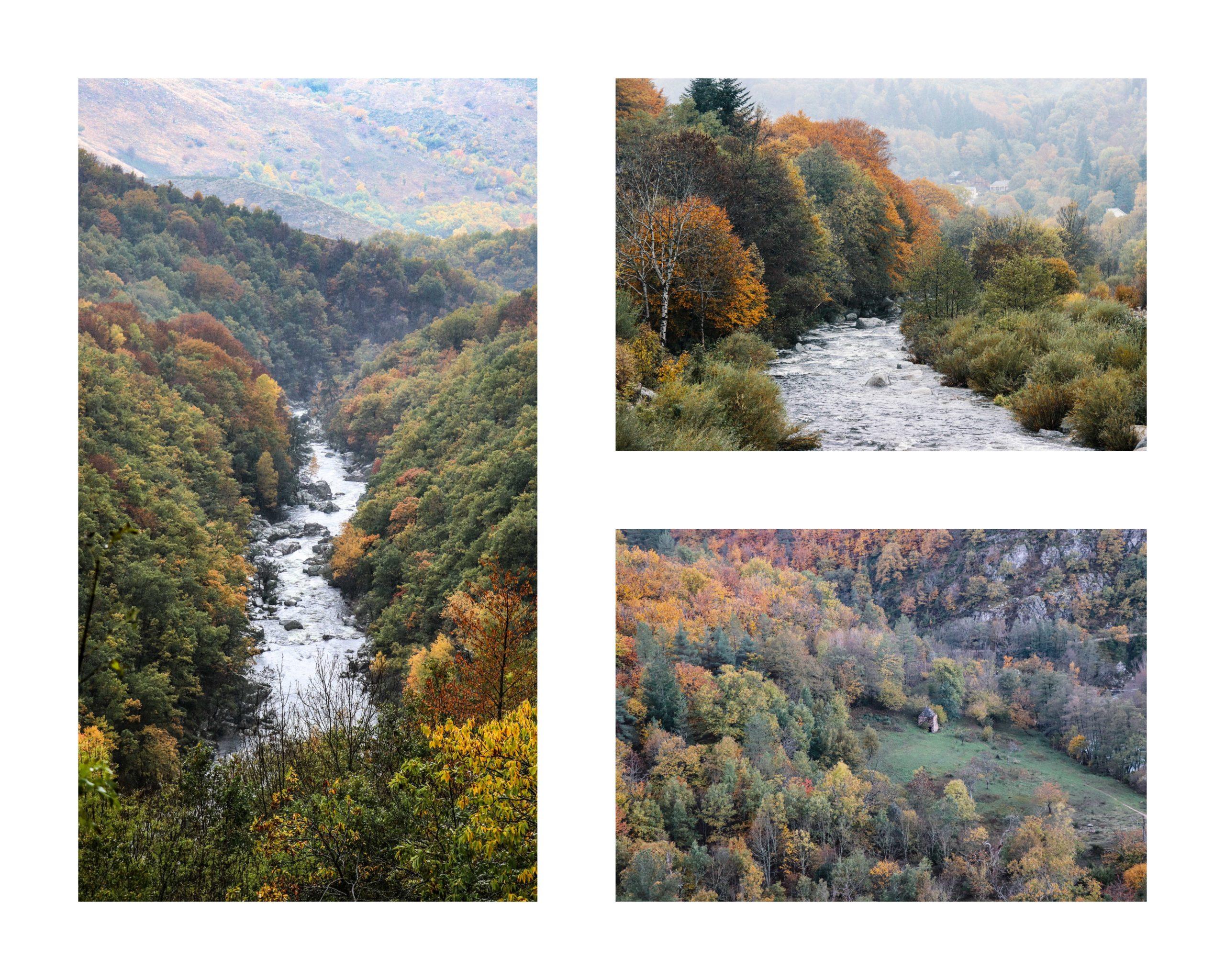 La Haute vallée du Tarn. La Lozère en famille