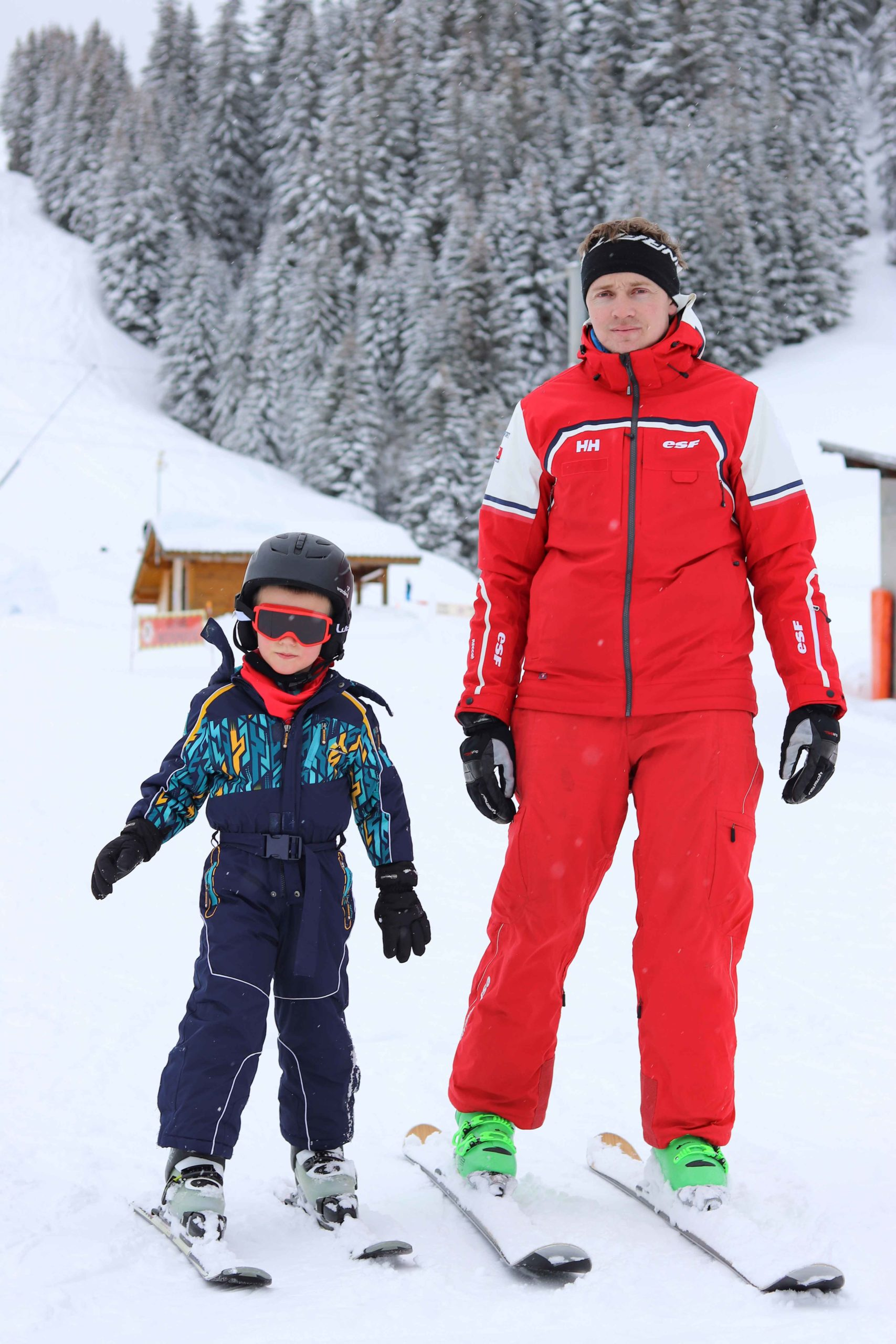 Ecole de ski de Sommand