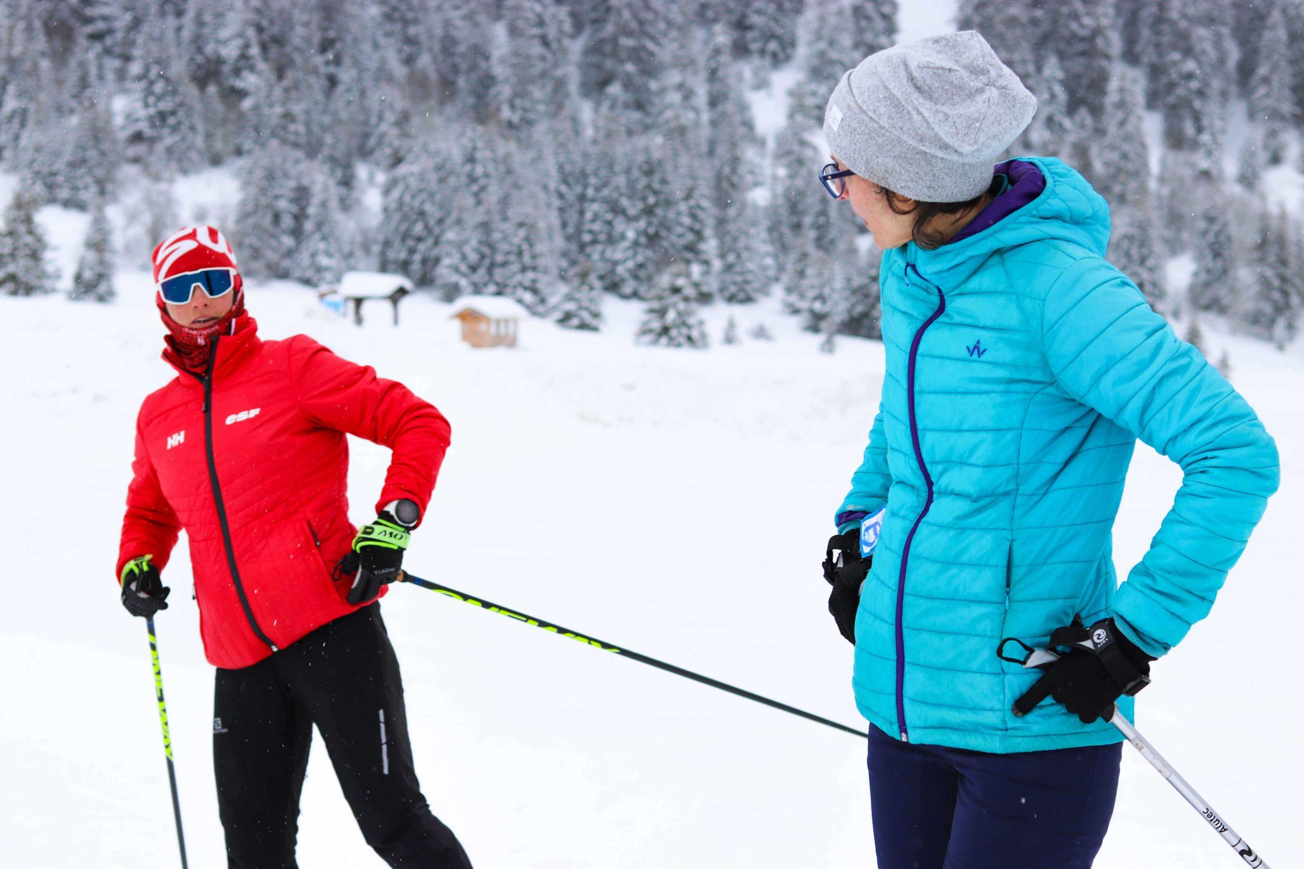 Marie Kromer, ecole de ski de fond - skating Sommand