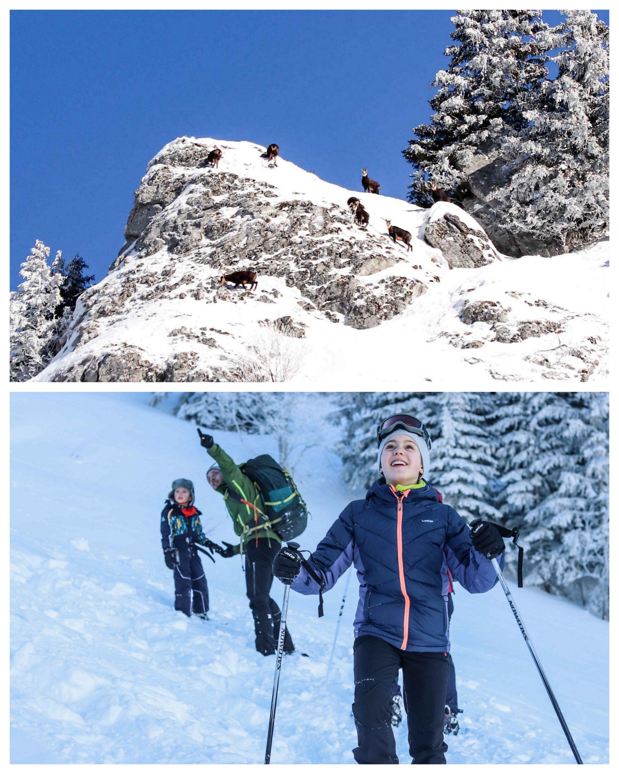 Séjour à Praz de lys - Sommand en famille - Haute Savoie - Ambiance Montagne