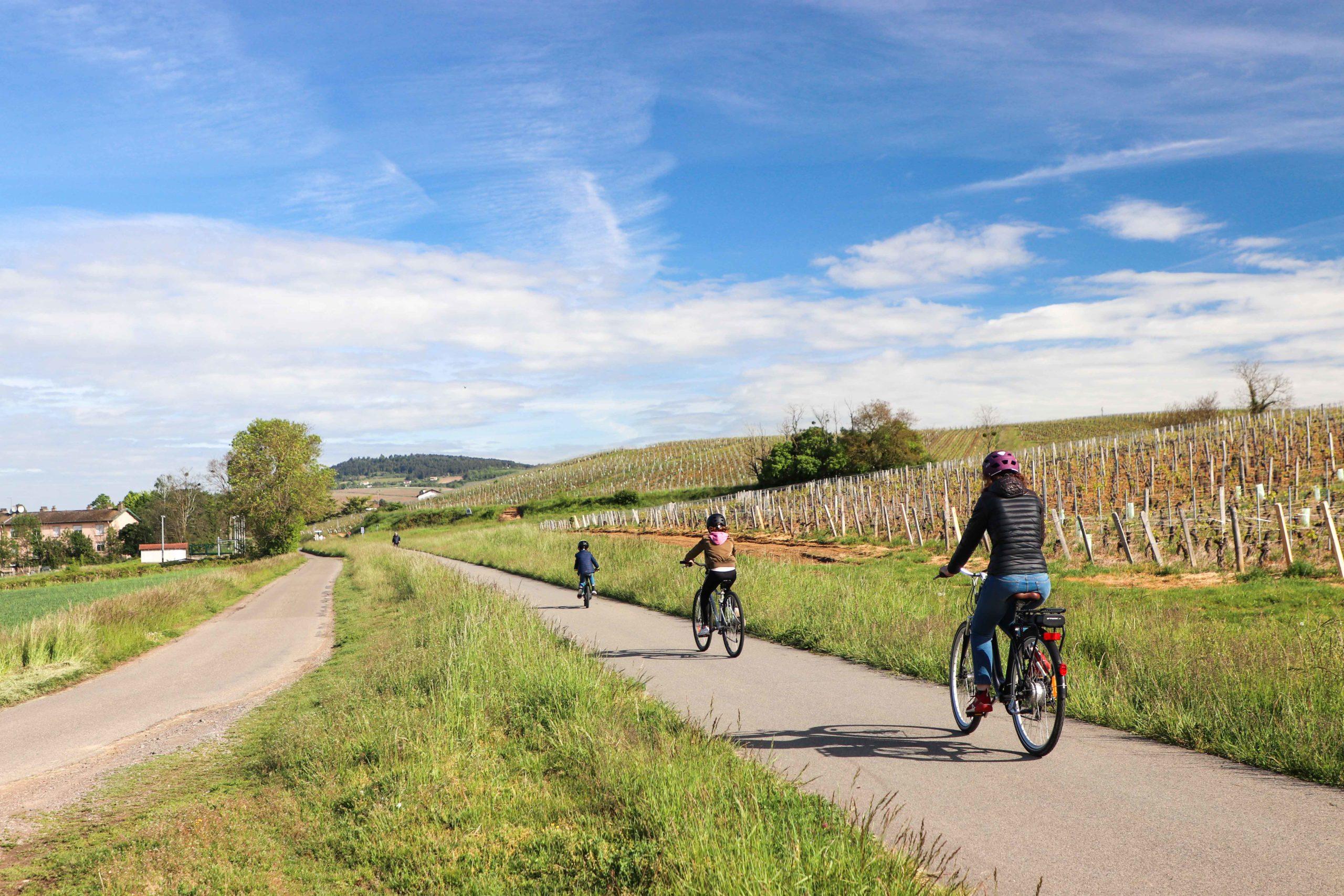 Voie verte 71 - vélo famille - Saône-et-Loire