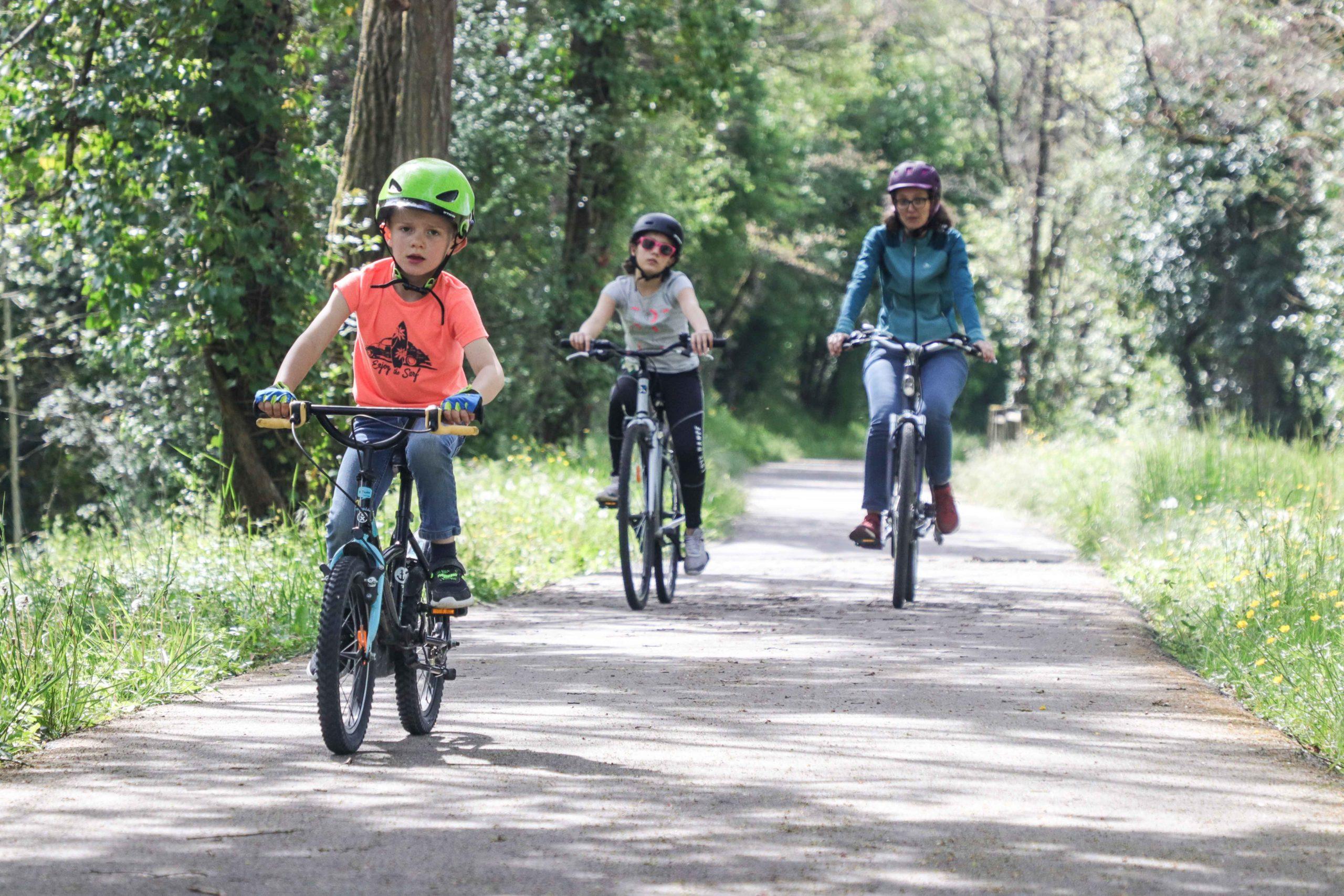 Voie verte - vélo famille - Saône-et-Loire