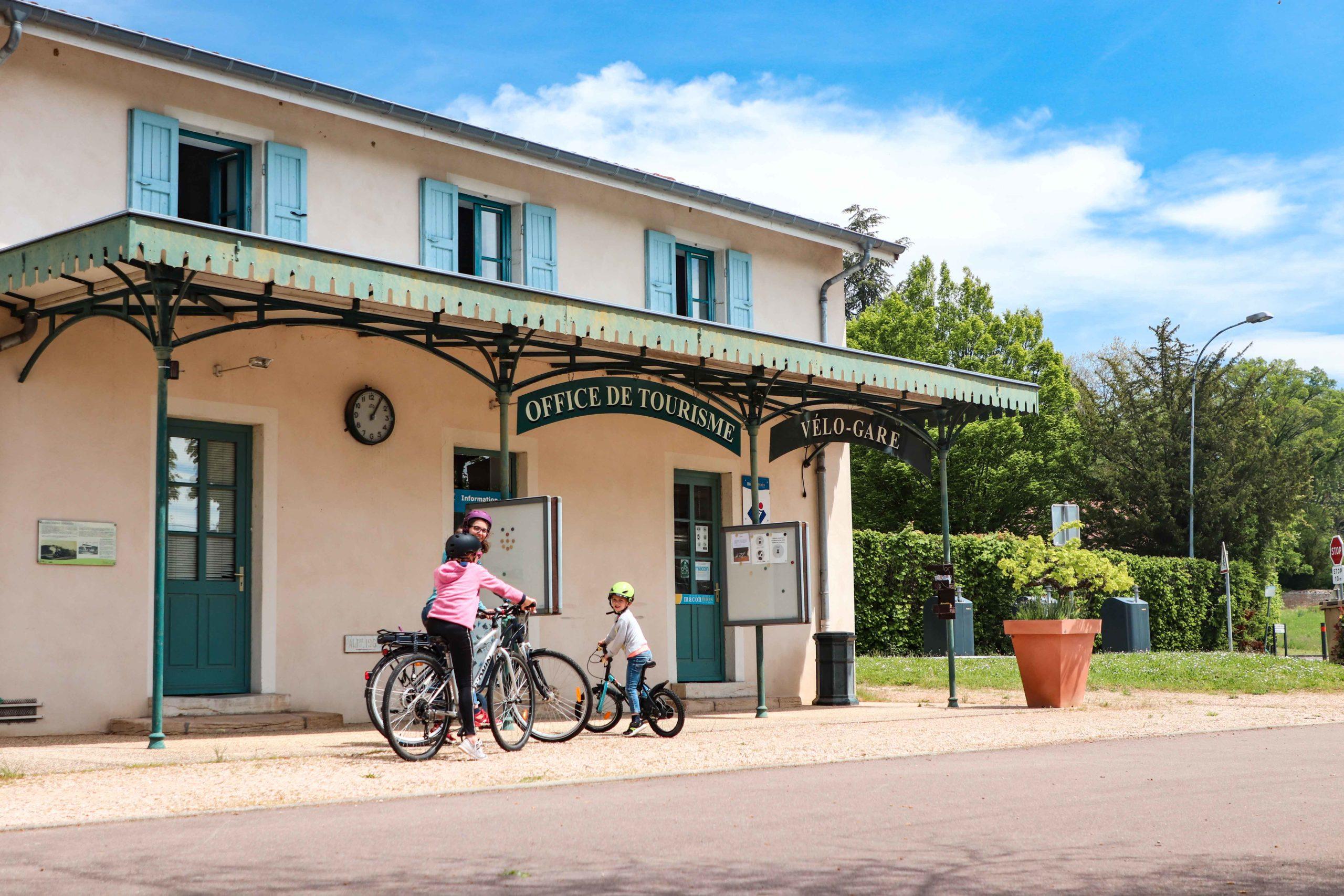 Charnay-lès-Macon - Vélo gare - vélo famille - Saône-et-Loire