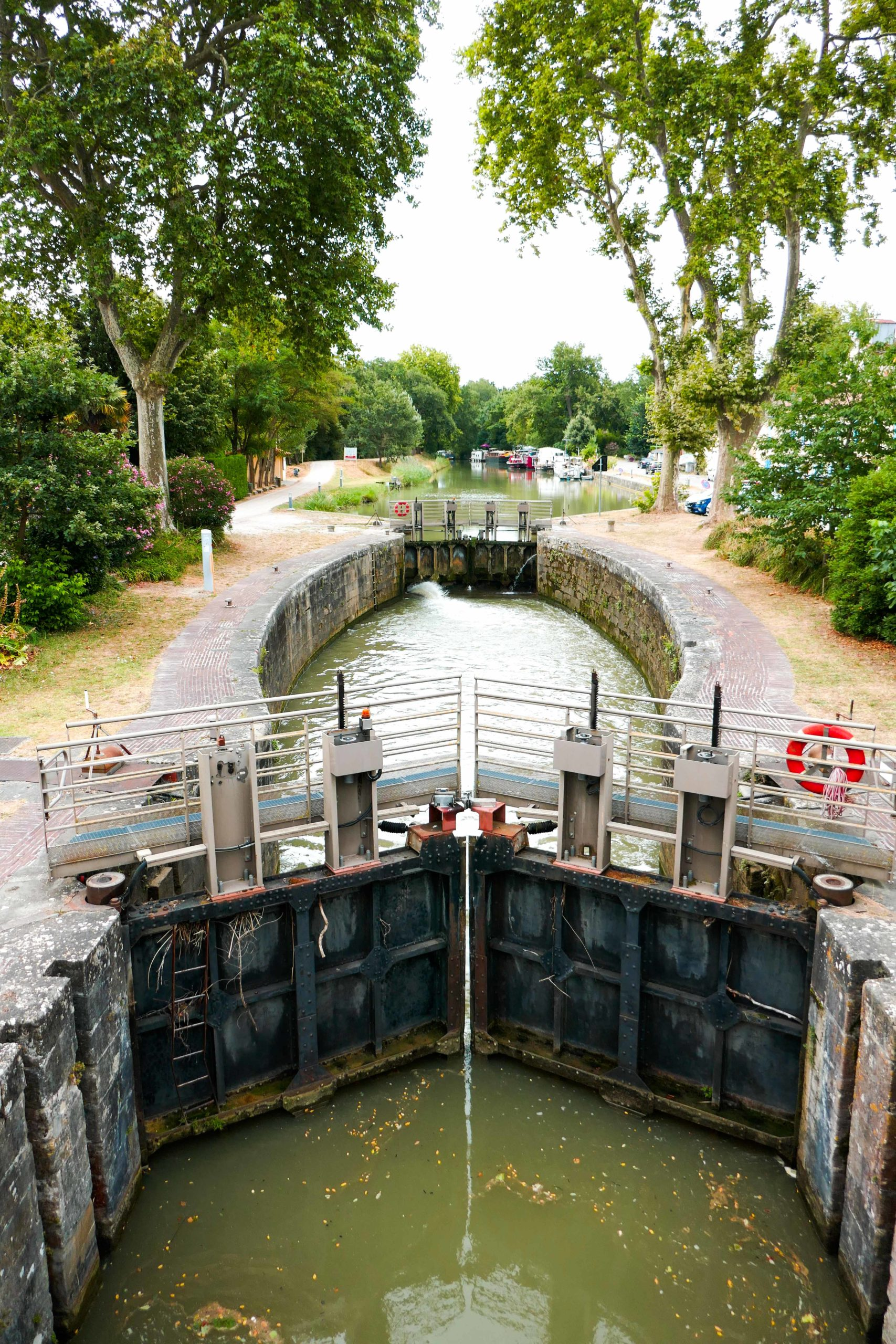 ecluse canal du Midi